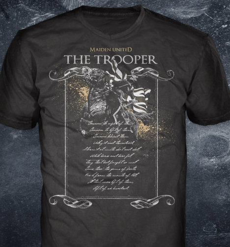 79775a20 Maiden uniteD t-shirt 'The Trooper' – Nuppel