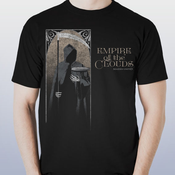 b8a728d4 Maiden uniteD Empire Of The Clouds t-shirt (Male/Female) – Nuppel